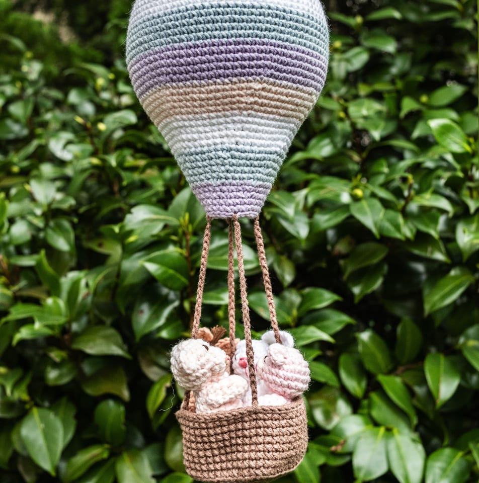 Amigurumi Balão - Fio Balloon Amigo