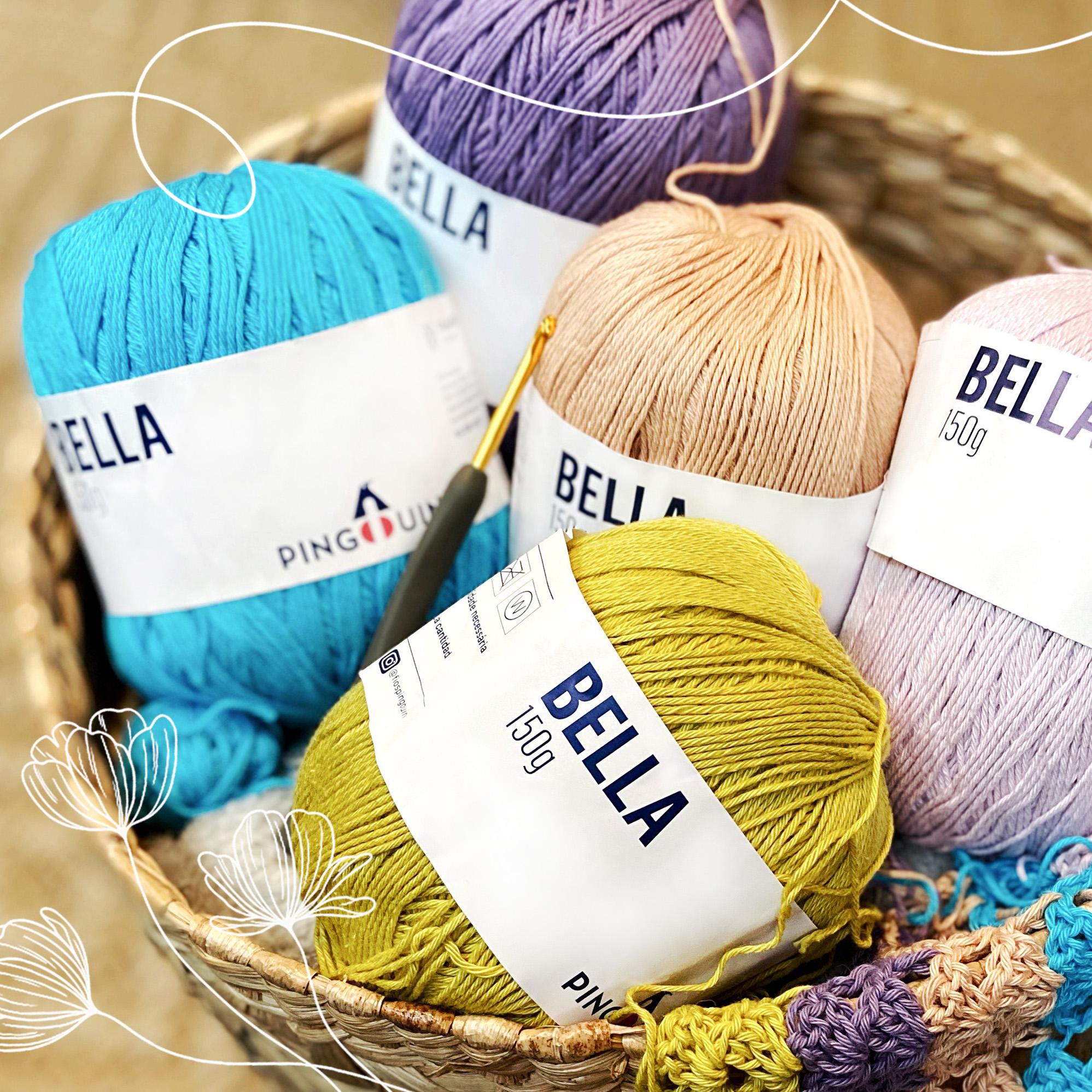 paleta de cores fio Bella