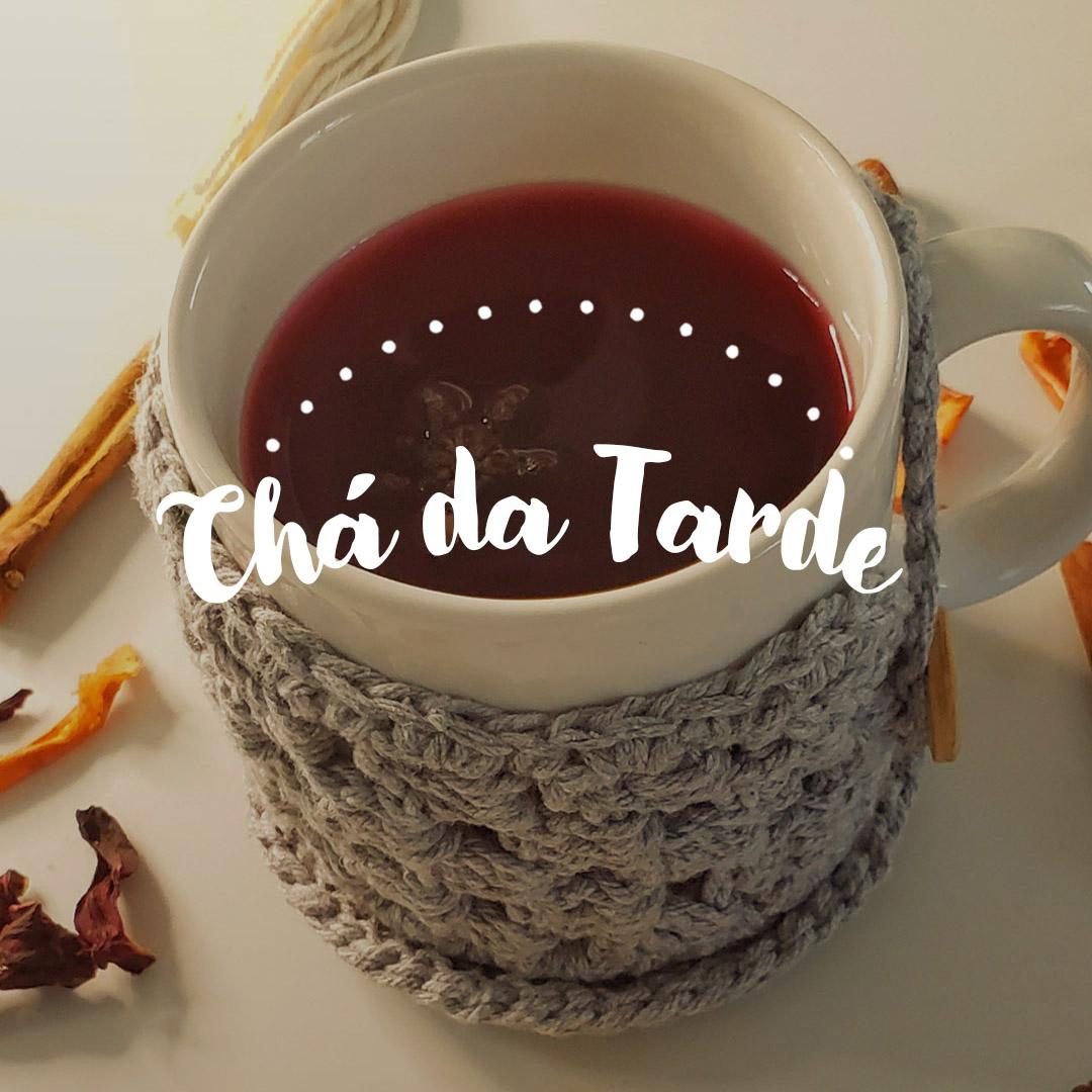 chá da tarde hibisco