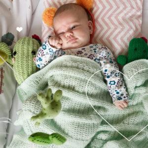 Manta para bebê